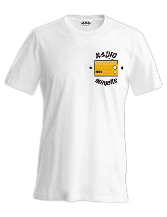 Tee-shirt Radio Mogette sur le coeur